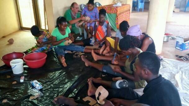 MICRO ENTERPRISE TRAINING FOR RURAL WOMEN IN THE GOMOA EAST DISTRICT OF GHANA